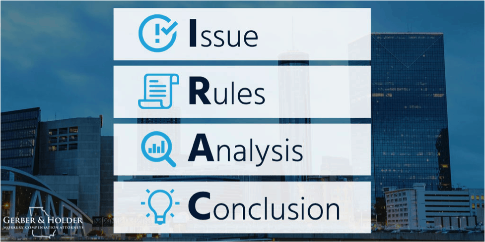 IRAC - Issue, Rules, Analysis, Conclusion